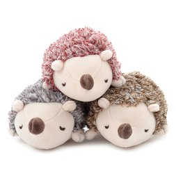 Marshmallow Animal Hedgehog Mascot Plush Collection