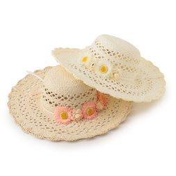 LIZ LISA Corsage Straw Hat