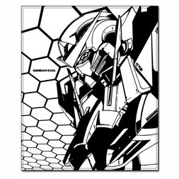 Gundam 00 Exia Throw Blanket