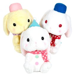 Pote Usa Loppy Snowman Rabbit Plush Collection (Big)