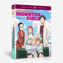 Interviews with Monster Girls: The Complete Series Blu-ray/DVD Combo Pack