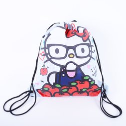 68ce4747db7 Hello Kitty Nerd I Love Apples Cinch Backpack