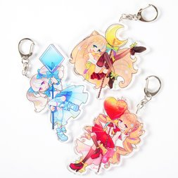 Sweet Lollipop Girls Vol. 2 Acrylic Keychains