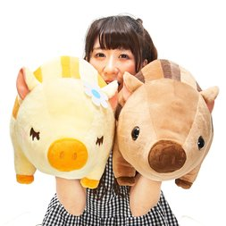 Chibikko Uribon Wild Boar Plush Collection (Big)
