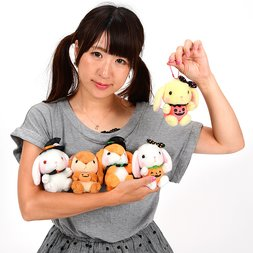 Pote Usa Loppy Halloween Rabbit Plush Collection (Ball Chain)