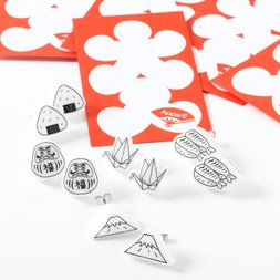 ApparE Japanese Motif Earrings