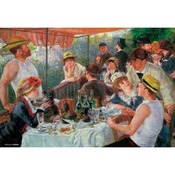Luncheon of the Boating Party Jigsaw Puzzle