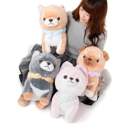 Mameshiba San Kyodai Funwari Yume no Kuni Dog Plush Collection (Big)