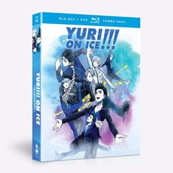 Yuri!!! on Ice: The Complete Series Blu-ray/DVD Combo Pack