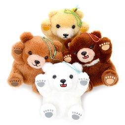 Marukuma Polar de Gao Bear Plush Collection (Ball Chain)