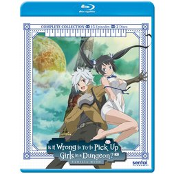 Is It Wrong to Try to Pick Up Girls in a Dungeon? Complete Collection