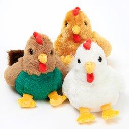 Fluffies 2017 Zodiac Small Chicken Plushies