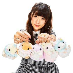 Coroham Coron Moko Moko Hamster Plush Collection (Ball Chain)