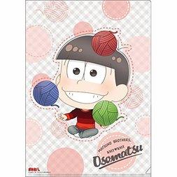 Osomatsu-san Knitting Wool Osomatsu Clear File
