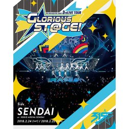 The Idolm@ster: SideM 3rd Live Tour: Glorious St@ge! Side Sendai Live Blu-ray (4-Disc Set)