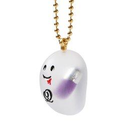 Q-pot. Trick Ghost Drink Poison Capsule Necklace