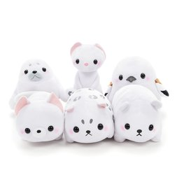 Pocket Zoo White Friends Animal Plush Collection (Standard)