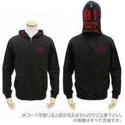 Evangelion SEELE Monolith Black Full-Zip Hoodie