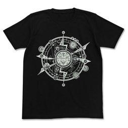 Tonitrus Magic Circle Luminous All-Over Print Black T-Shirt