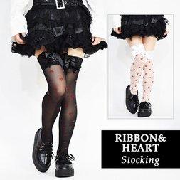 ACDC RAG Ribbon & Heart Stockings