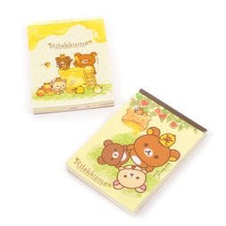 Rilakkuma Harvest Festival in Honey Forest Memo Pad