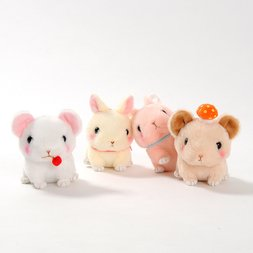Kyun to Nakiusagi no Minori Pika Plush Collection (Ball Chain)