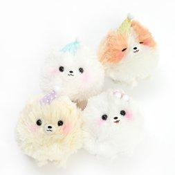 Pometan to Oyasumi Dog Plush Collection (Ball Chain)