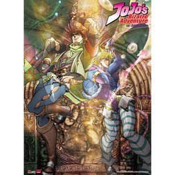 JoJo's Bizarre Adventure Key Art 01 Special Edition Wall Scroll