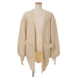 LIZ LISA Pocket Fur Knit Cardigan