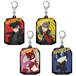 Persona 5: The Animation Acrylic Keychain Collection