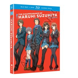 The Disappearance of Haruhi Suzumiya: The Movie (Blu-ray/DVD Combo)