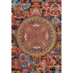 Shaka Muni Butsu Mandala Jigsaw Puzzle