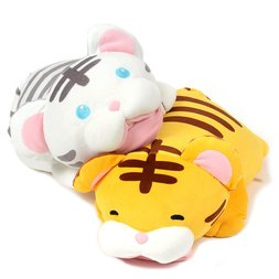 Mocchiri Biting Tiger Cushion