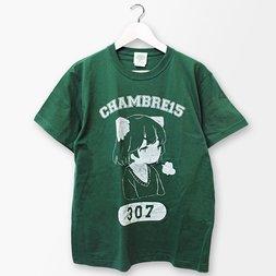 PARK Kotoko Watatsumugi Character College Print T-shirt