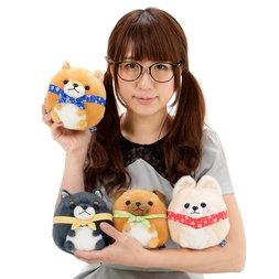 Mameshiba San Kyodai Rolling Dog Plush Collection