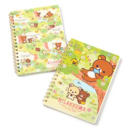 Rilakkuma Korilakkuma to Atarashii Otomodachi B6 Spiral Notebooks