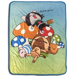 Monster Hunter Naptime Sublimation Throw Blanket