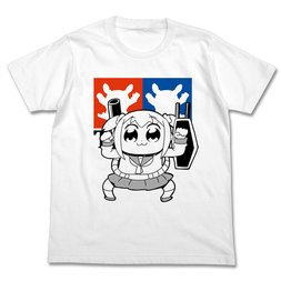 Pop Team Epic Perfect Popuko White T-Shirt
