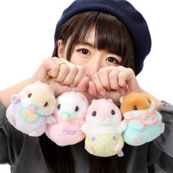 Coroham Coron Baby Hamster Plush Collection (Ball Chain)