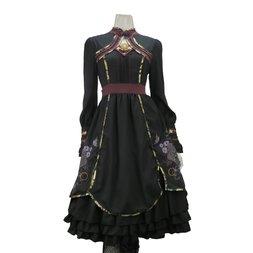 Ozz Oneste Wabana Printed Dress