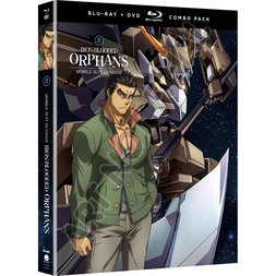 Mobile Suit Gundam: Iron-Blooded Orphans Season 2 Part 1 Blu-ray/DVD Combo Pack