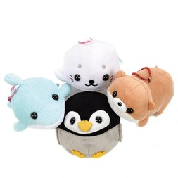 Pocket Aquarium Animal Plush Collection (Ball Chain)