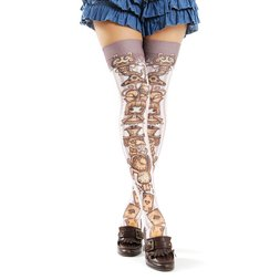 Zettairyoiki Alice's Tea Party Thigh-High Tights