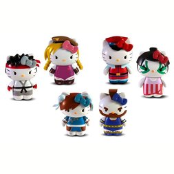 Sanrio x Street Fighter PVC Mini Figures