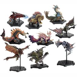 Capcom Figure Builder Monster Hunter Standard Model Plus: The Best Vol. 4-6 Box Set