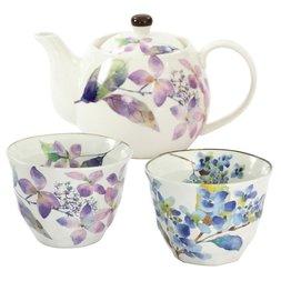 Hana Yohira Mino Ware Tea Set