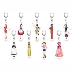 Uranohoshi Girls' High School Store International Official World Mascot Acrylic Keychain
