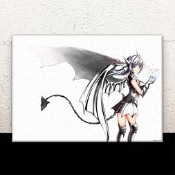 White-Devil Acrylic Art Board