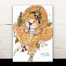 Petit Fleur Acrylic Art Board