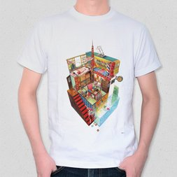 Retro Box World T-Shirt
